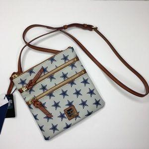 Dooney & Bourke Dallas Cowboys Triple Zip Bag